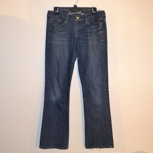 American Eagle true boot jeans size 8